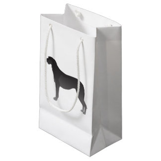 Scottish Deerhound Basic Dog Breed Silhouette Small Gift Bag