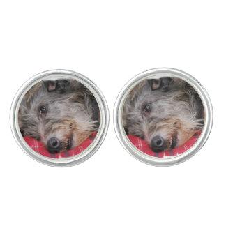 Scottish Deerhound Cufflinks