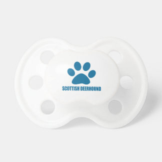 SCOTTISH DEERHOUND DOG DESIGNS PACIFIER