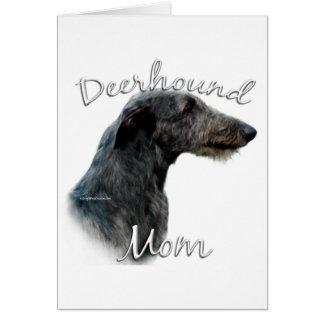 Scottish Deerhound Mom 2 Card