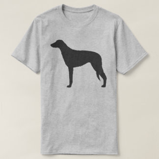 Scottish Deerhound Silhouette T-Shirt