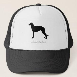 Scottish Deerhound silhouette Trucker Hat