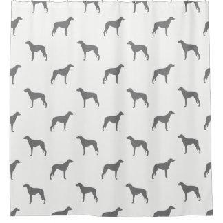 Scottish Deerhound Silhouettes Pattern