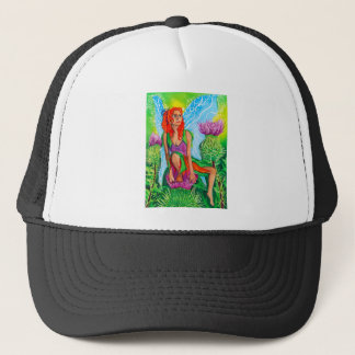 SCOTTISH FAIRY THISTLES TRUCKER HAT