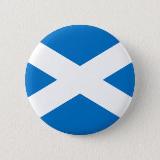 Scottish Flag 2 Inch Round Button