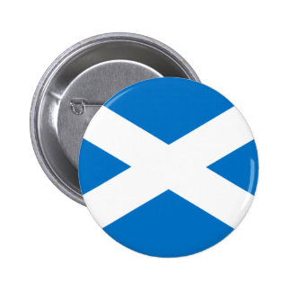 Scottish Flag 2 Inch Round Button