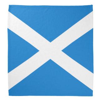Scottish flag bandana