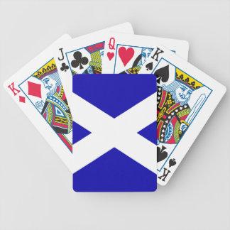 Scottish Flag Bicycle Playing Cards