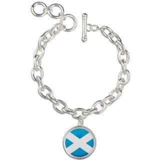 Scottish flag bracelet