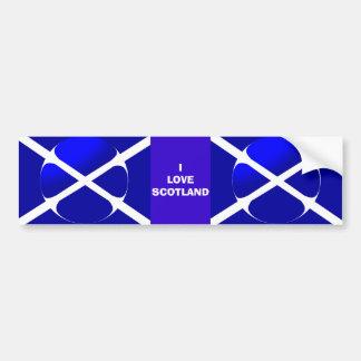 Scottish Flag Bumper Sticker
