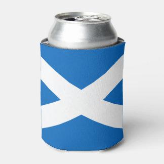 Scottish flag can cooler