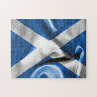 Scottish Flag Jigsaw Puzzle