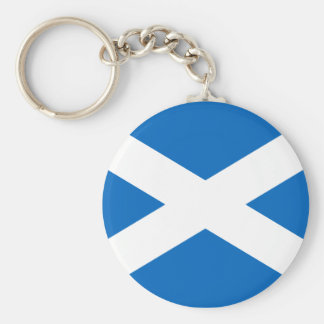 Scottish Flag Key Chain