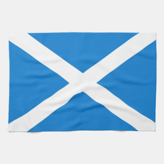 Scottish flag kitchen towel