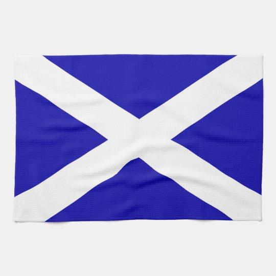 Scottish Flag Kitchen Towel