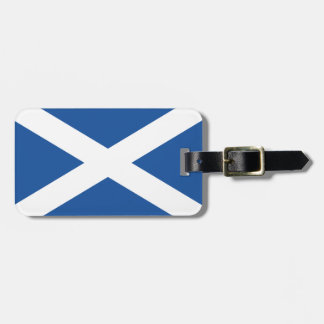 Scottish flag luggage tags for bags and suitcases