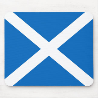Scottish Flag Mouse Mat in Official Colours Mouse Pad