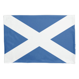 Scottish flag of Scotland flag pillowcase