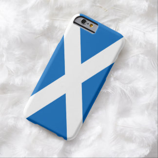 Scottish Flag of Scotland Saint Andrew's Cross Barely There iPhone 6 Case