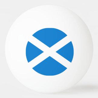 Scottish flag ping pong ball