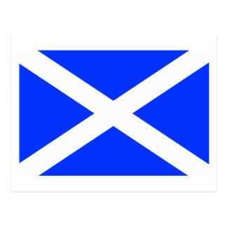 Scottish Flag Postcards