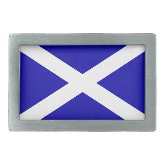 Scottish Flag Rectangular Belt Buckle