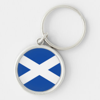 Scottish Flag - Saltire -  Keyring
