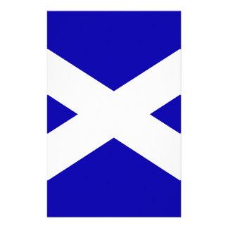 Scottish Flag Stationery Design