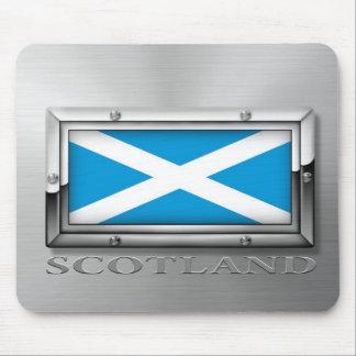 Scottish Flag (Steel) Mouse Pad