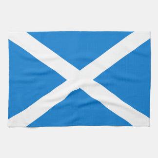 Scottish flag towel
