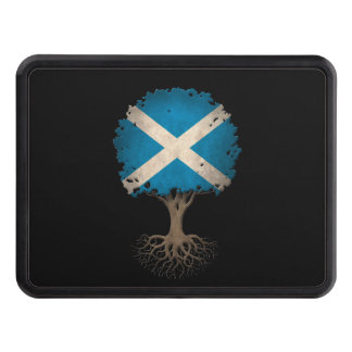 Scottish Flag Tree of Life Customizable Trailer Hitch Cover