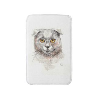 Scottish Fold Cat Bath Mat