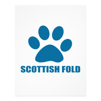 SCOTTISH FOLD CAT DESIGNS LETTERHEAD