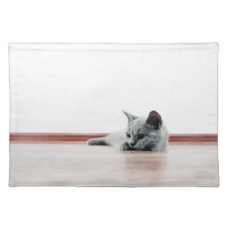 Scottish Fold Cat Kitten Super Cute Placemat
