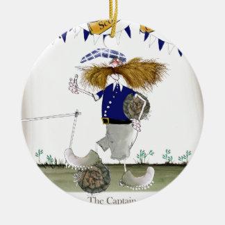 scottish football captain ceramic ornament
