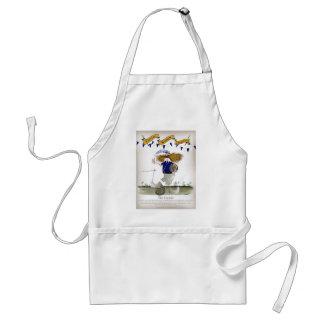 scottish football captain standard apron