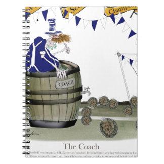 scottish football coach notebooks