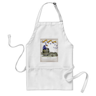 scottish football coach standard apron