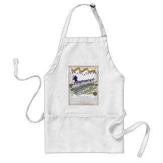scottish football substitutes standard apron