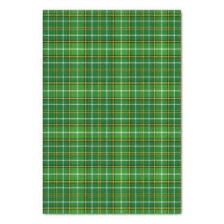 Scottish Forrester Hunting Plaid Tartan Tissue Paper