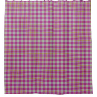 Scottish Gala Hot Pink Yellow Tartan Plaid
