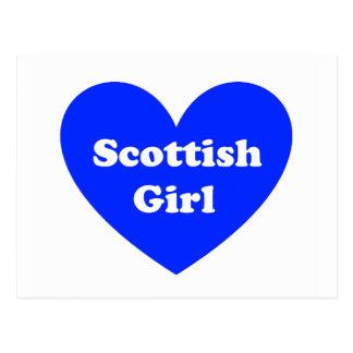 Scottish Girl Postcard