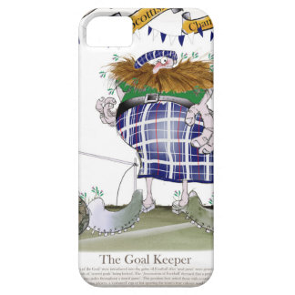 scottish goalkeeper iPhone 5 case