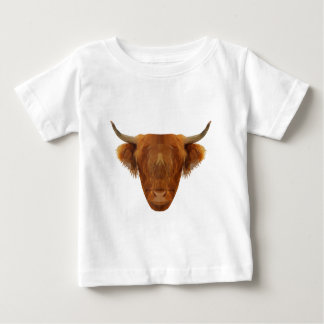 Scottish Highland Cattle Scotland Animal Cow Baby T-Shirt