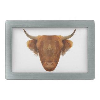 Scottish Highland Cattle Scotland Animal Cow Belt Buckle