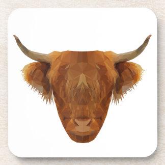 Scottish Highland Cattle Scotland Animal Cow Coaster