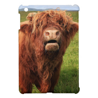 Scottish Highland Cattle - Scotland iPad Mini Cover