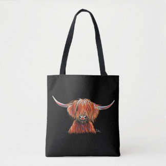 SCoTTiSH HigHLaND CoW ' HaRLeY ' by SHiRLeY Mac Tote Bag