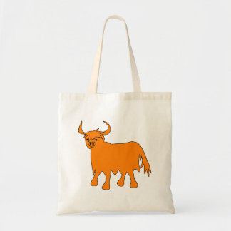 Scottish Highland Cow tote bag image