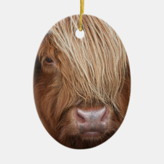 Scottish Highland Cows - Scotland Ceramic Ornament